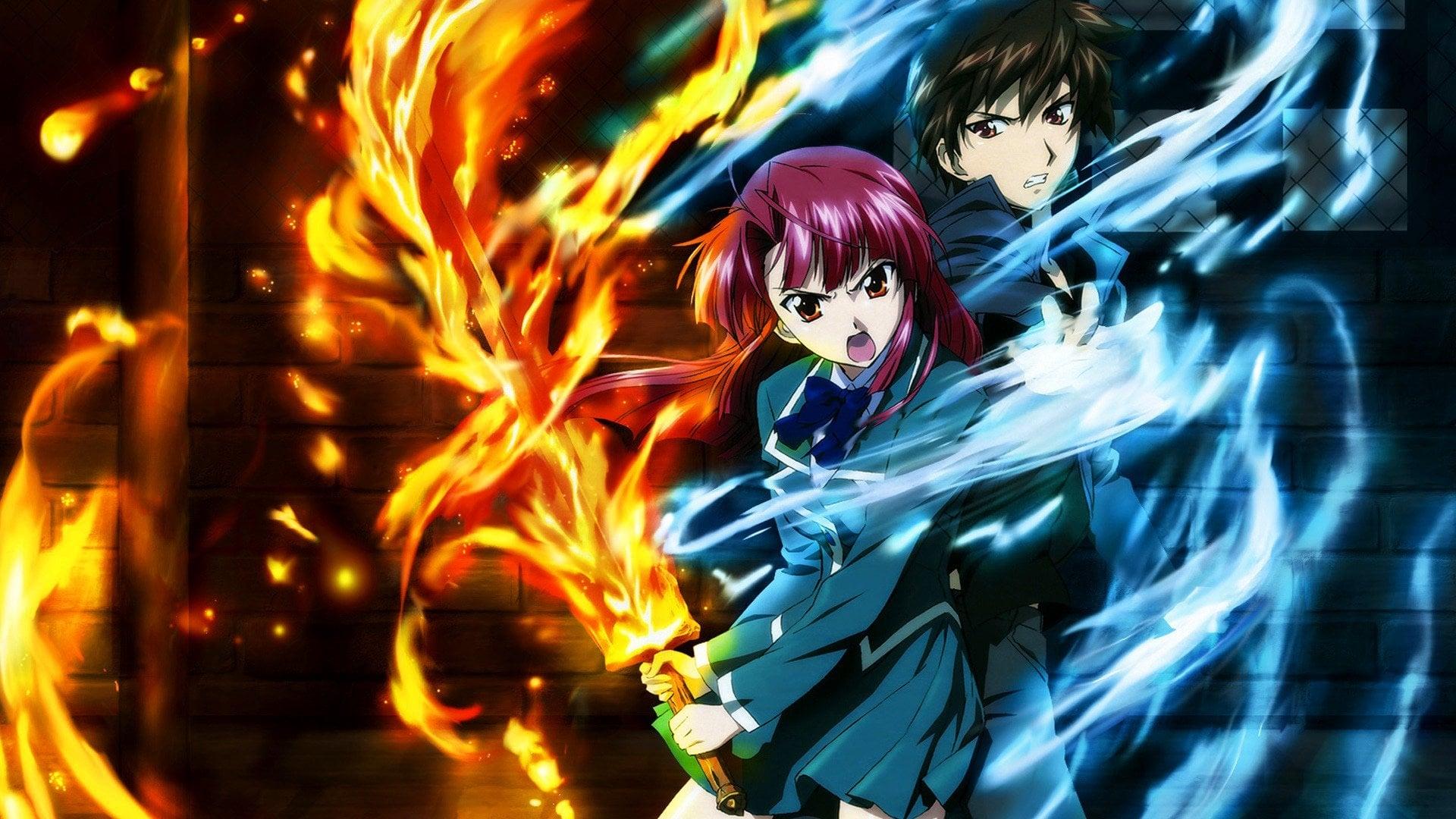 Аниме про школу магии где у главного героя нет волшебных сил кабинет школы магии