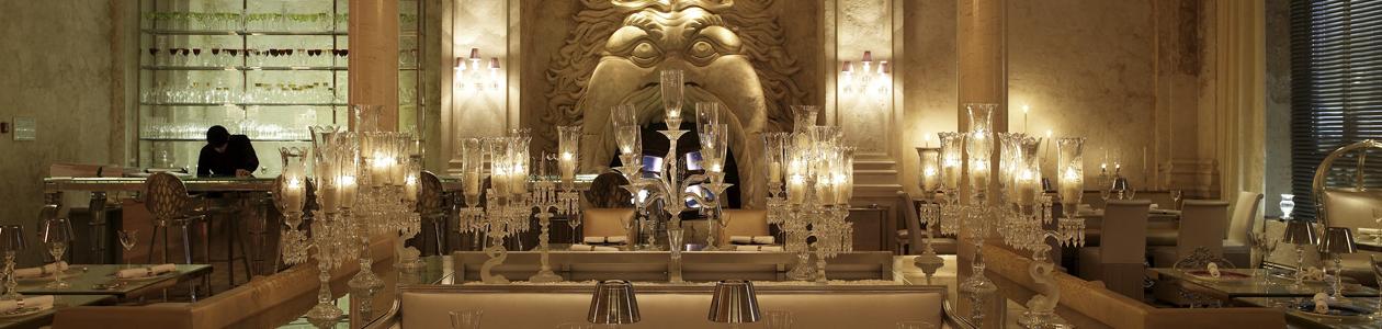 Ресторан Baccarat Cristal Room. Москва Никольская, 19–21, 2 этаж