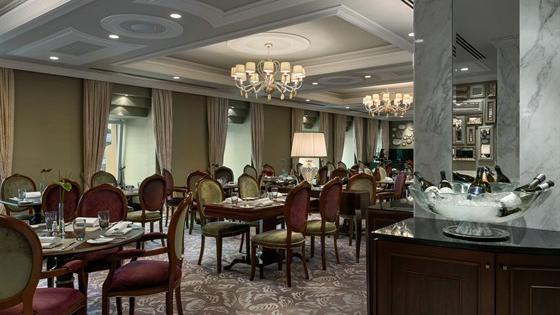 Ресторан Балчуг-гриль. Москва Балчуг, 1, отель «Балчуг Кемпински Москва»